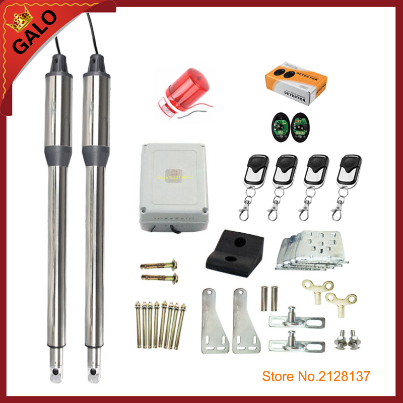 GALO AC220V/AC110V full color kit swing gate driver actuator perfect suit  gates opener worth buying galo dc24v ac220v ac110v electrical