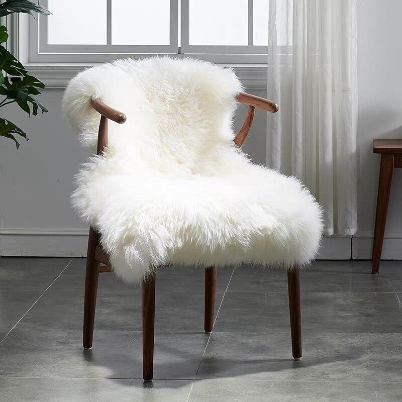 Genuine Australian Sheepskin Fur Rug For Whole Chair