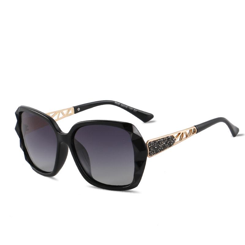 KINGSEVEN Sunglasses Women Gradient Polarized Diamond Frame Sun Glasses For Driving Luxury Lady Shades Eyewear Accessories 7538 1