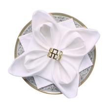 5Pcs Napkin Rings Napkins Holder Rings For Wedding Banquet Daily Dinner Party Decoration Gold Silver Quick Delivery Practical цена