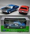 Welly 1:24 Aleación de Fast & Furious Dodge Charger Challenger T/A de Juguete coches Diecast Modelo Niños Juguetes Regalo de Colección Para Los Niños Año Nuevo