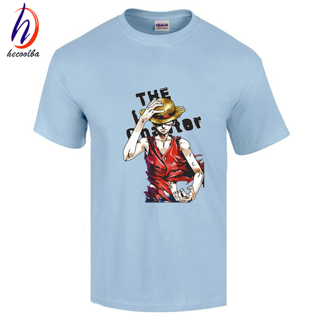 One Piece Anime Print Casual Fashion Summer T-shirts For Men and Women