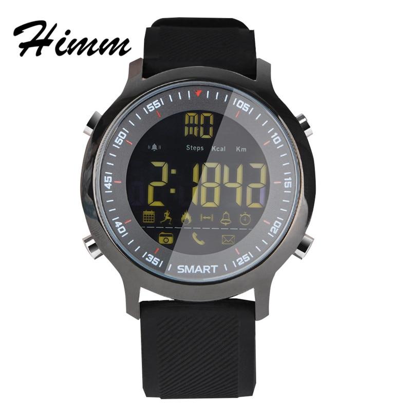 Original EX18 smart watch sports Bluetooth 4 0 5ATM waterproof IP67 smart watch wristband stopwatch alarm