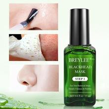 Black Haed Remover Liquid Skin Care Remove Black Nose Nasal Membrane 17ML With 100PCS Nasal Membrane Paper все цены