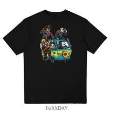 b3952913a5b 2018 New est Men Horror Movie The Massacre Machine T Shirt Printed Men  Clothes Brand T