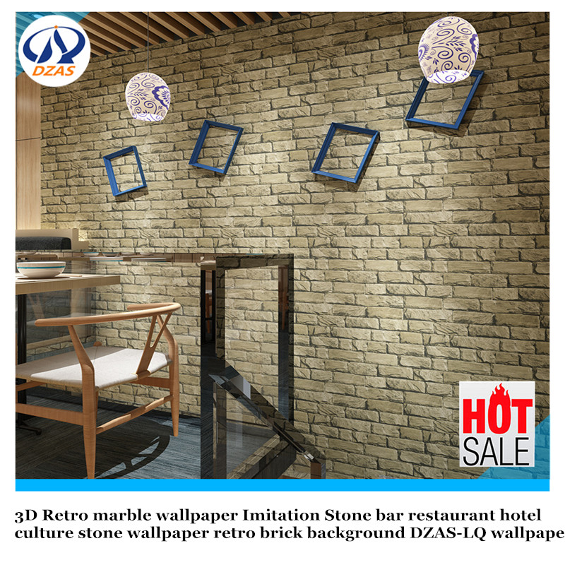 3D Retro marble wallpaper Imitation Stone bar restaurant hotel culture stone wallpaper retro brick background DZAS-LQ wallpaper custom photo wallpaper 3d retro wheel imitation brick wall wallpaper mural bar restaurant lounge hotel wallpaper