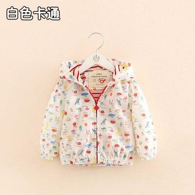 6b403bf20ed Top Outerwear 2018 Spring Autumn Fashion Korea Children S Clothing Long  Sleeve Print Zipper Baby Kids Girls