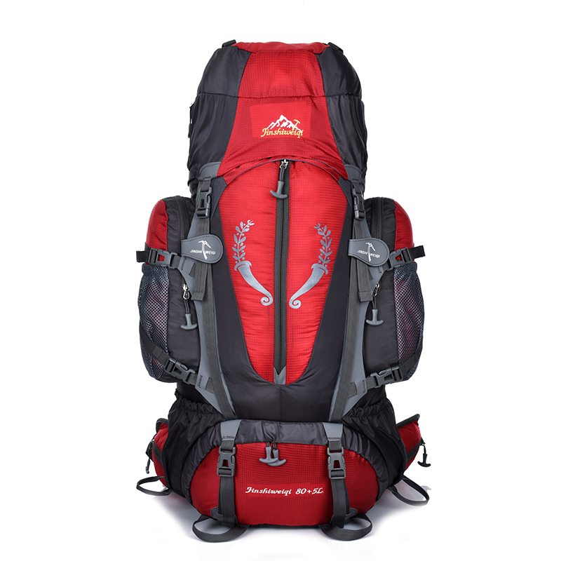 85L Outdoor bag Camping Hiking Backpack Large Nylon Frame Bag Waterproof Men Sport Bags Climbing Travel Big Capacity Rucksacks цена