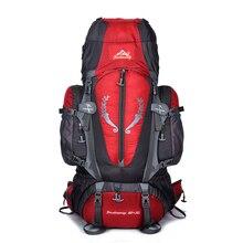 85L Outdoor bag Camping Hiking Backpack Large Nylon Frame Bag Waterproof Men Sport Bags Climbing Travel Big Capacity Rucksacks цены