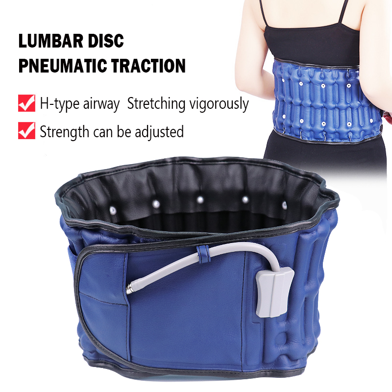 Lumbar Traction Belt Inflatable Traction Orthopedic Belt Adjustable Back Prevent Cure Waist Vertebra Disease Massage Waist Band fire emblem if flora maid dress full sets cosplay costume stage performence clothes perfect custom for you