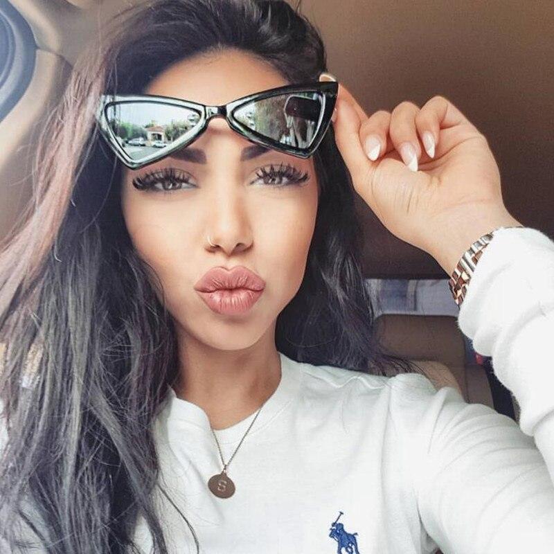 Winla Mode-Design Frauen Sonnenbrille Einzigartige Stil Dreieck ...