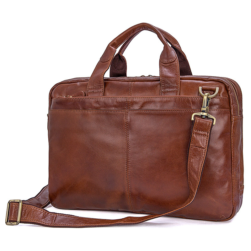 Men Briefcases Business 15 Laptop Travel Bags 2019 Genuine Leather Man Cow Leather Fashion Brand Casual Shoulder Crossbody BagsMen Briefcases Business 15 Laptop Travel Bags 2019 Genuine Leather Man Cow Leather Fashion Brand Casual Shoulder Crossbody Bags
