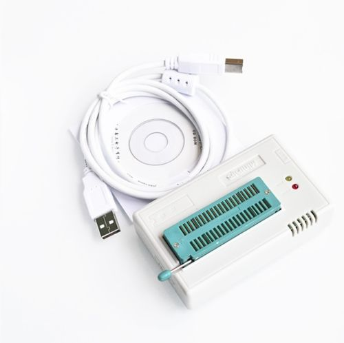 High Speed TL866CS Programmer USB EPROM EEPROM FLASH BIOS AVR AL PIC CA NEW usb tl866cs programmer eprom spi flash avr gal pic 9pcs adapters test clip 25 spi flash support in circuit programming adapter