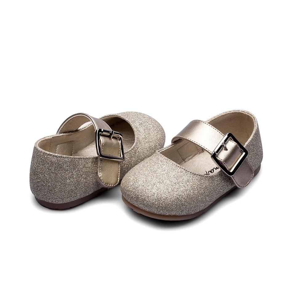 Buy girls gold shoes dress and get free shipping on AliExpress.com a8e3c06b0b2a