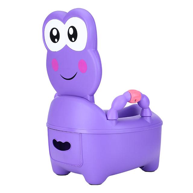 Hot Sale Bebê de Alta Capacidade Tipo Gaveta Crianças Bebê Comadre Higiênico Potty Higiênico Mictório Pedestal pan Higiênico Macio Assento Fezes