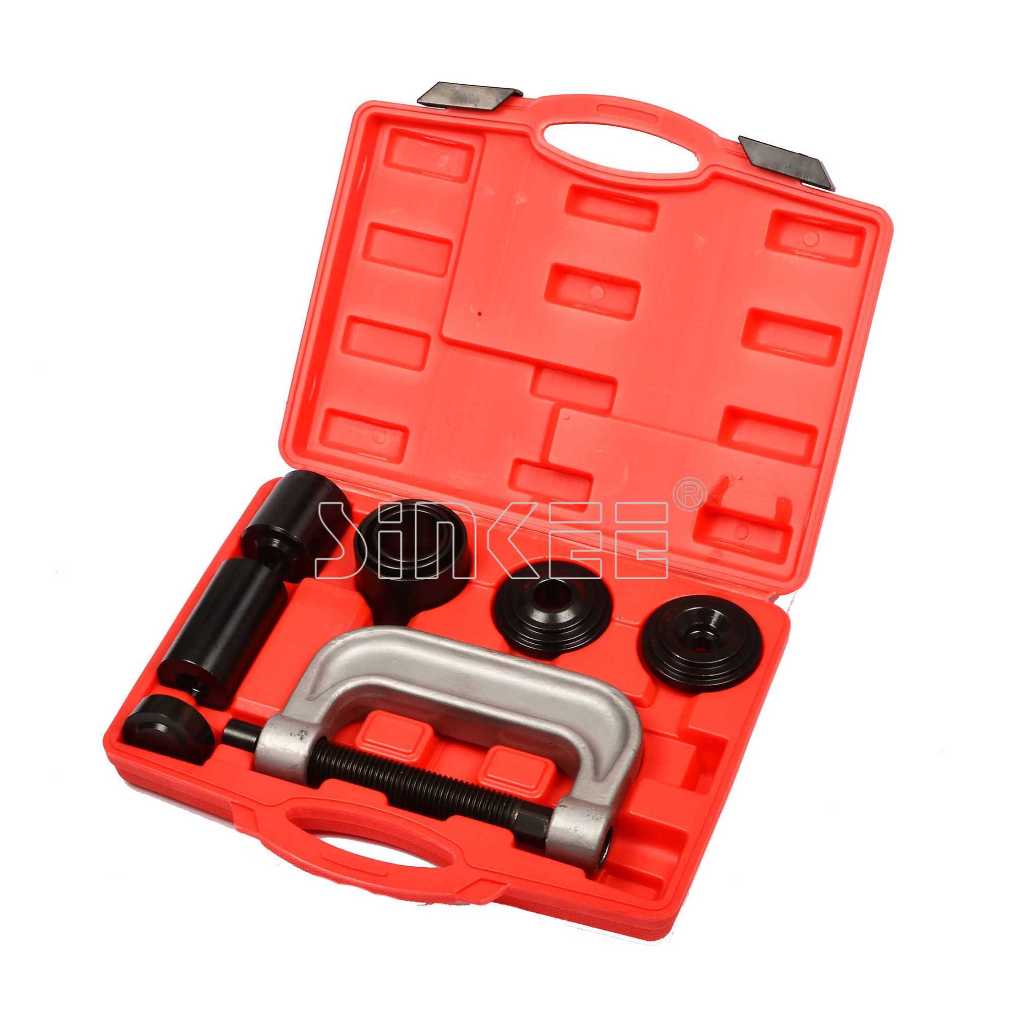 4-in-1 Ball Joint Service Tool Kit C Frame Press 2WD & 4WD Vehicles Truck Brake Anchor Pin Remover Installer SK1151