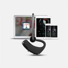 Беспроводная Bluetooth гарнитура с микрофоном и голосовым управлением
