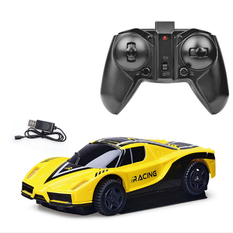 2 4G 360 Degree Rotation RC Car LED Lights Anti Gravity Stunt Climbing Truck in RC Cars from Toys Hobbies