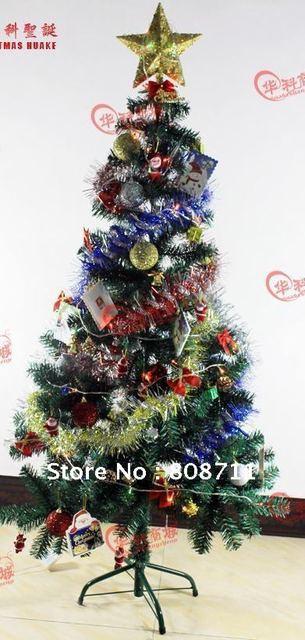 Kunstkerstboom met ornamenten (led verlichting) + gratis verzending ...