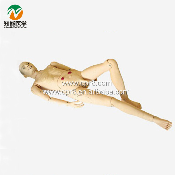 Advanced Full-Featured Aged Nursing Manikin (Male) BIX-H220A W118 bix h2400 advanced full function nursing training manikin with blood pressure measure w194