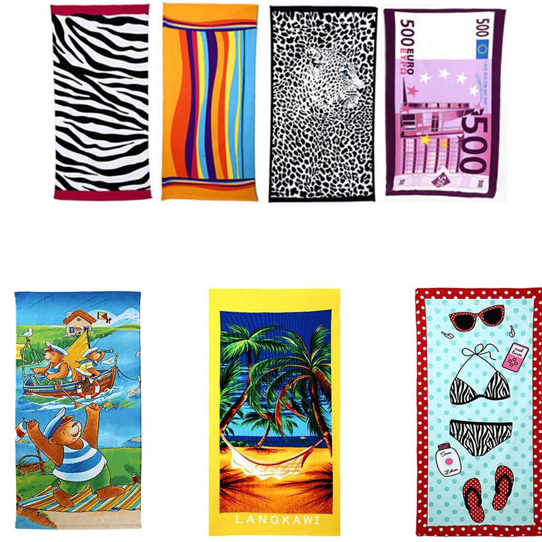 new colorful stripe big 70140cm hot sale water absorbent microfiber bath beach towel fast - Beach Towels On Sale