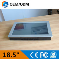 18 5 Inch Industrial Touch Screen Panel Pc 18 5 Mini Industrial Pc Windows 8 Panel