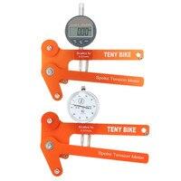 New Arrival Digital Scale 0 01mm Bike Indicator Attrezi Meter Tensiometer Bicycle Spoke Tension Wheel Builders