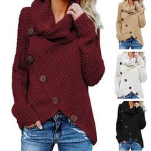 2019 new femme Autumn Winter Turtleneck Sweater Thick Warm Knitwear Pullover Female Knitted Jumper Women