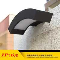 (WECUS) 100% authentic original, waterproof outdoor lamp, LED the courtyard wall lamp, XJ BD1119