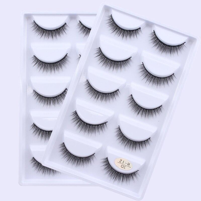 cílios postiços longo bagunçado maquiagem falso olho
