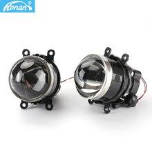 Ronan 3.0 Inch G2 Type Aanpassing Beugel Hd Glas & Blauw Film Bi Xenon Fog Light Projector Lens D2S D2H h11 Lampen Voor Subaru