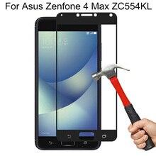 9 H Hardheid Beschermende Glas Film Voor ASUS ZenFone 4 Max ZC554KL Screen Protector Gehard Glas Voor Asus Zenfone 4 max ZC554KL