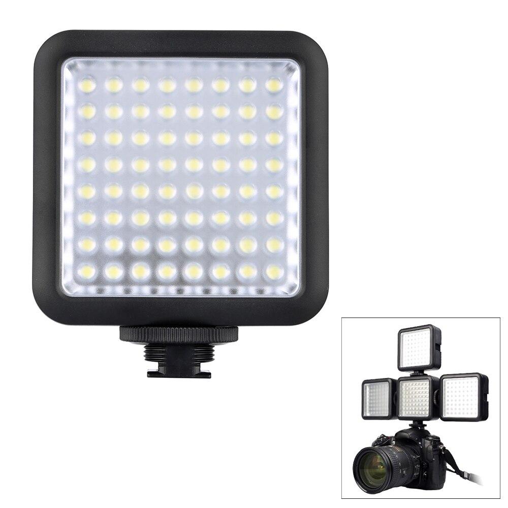 Godox светодиодный 64 светодиодный видео светодиодный лампы для DSLR Камера видеокамера мини DVR как наполнитель для свадьбы Новости Интервью мак