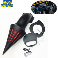 For 99 12 Yamaha V Star Dragstar 1100 XVS1100 Spike Cone Air Cleaner Intake Filter Kit Motorcycle Accessories Parts 1999 2012