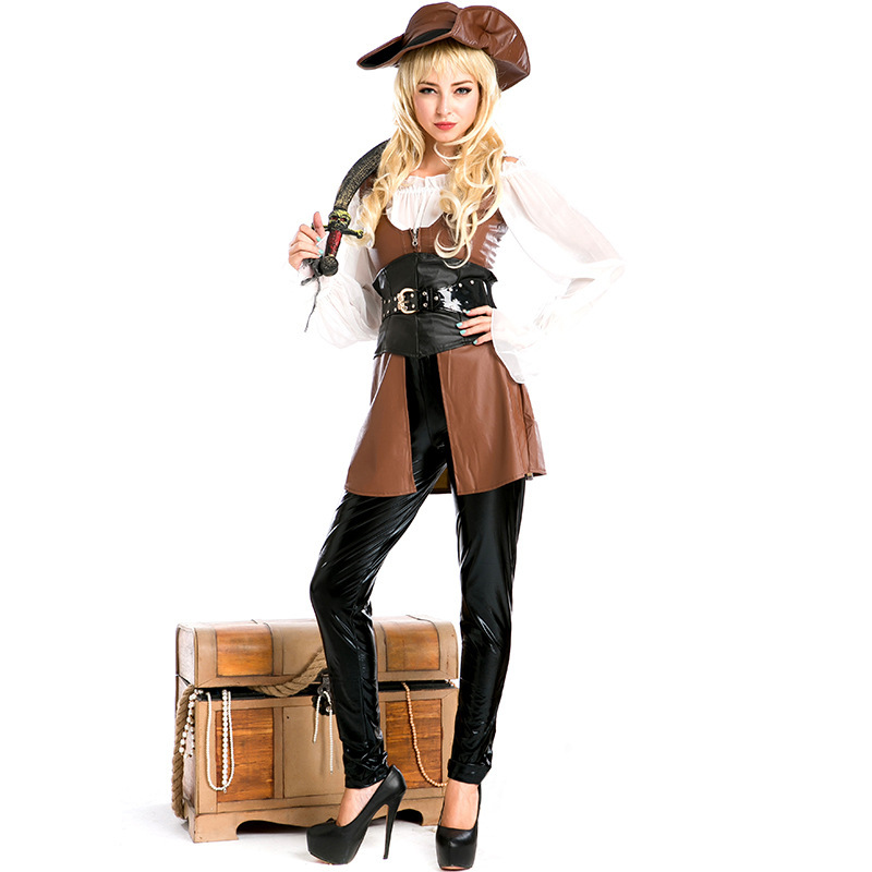 halloween costumes for women plus size sexy pirate adult girl female fancy dress fantasia pirates of the caribbean costume women