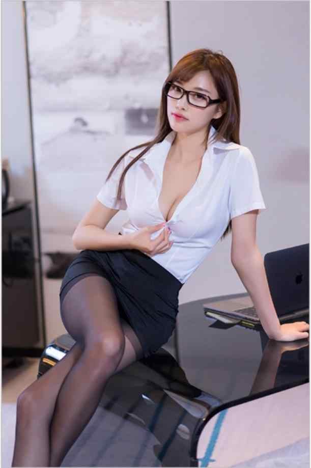 Women Sexy Shirt Office Lady Uniform Mini Temptation Slim -6483
