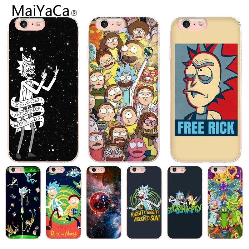 rick et morty coque iphone 8 plus