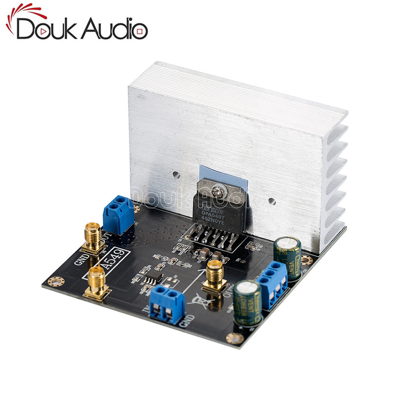 все цены на OPA549 Module Audio Power Amplifier Board 100W High-voltage 8A High-current