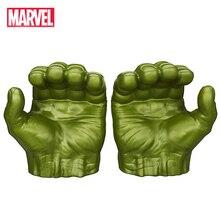 Marvel Мстители Халк перчатки Дисней Фигурки игрушки Халк фигурка Косплей Marvel Legends Gamma Grip модель игрушка подарок для детей