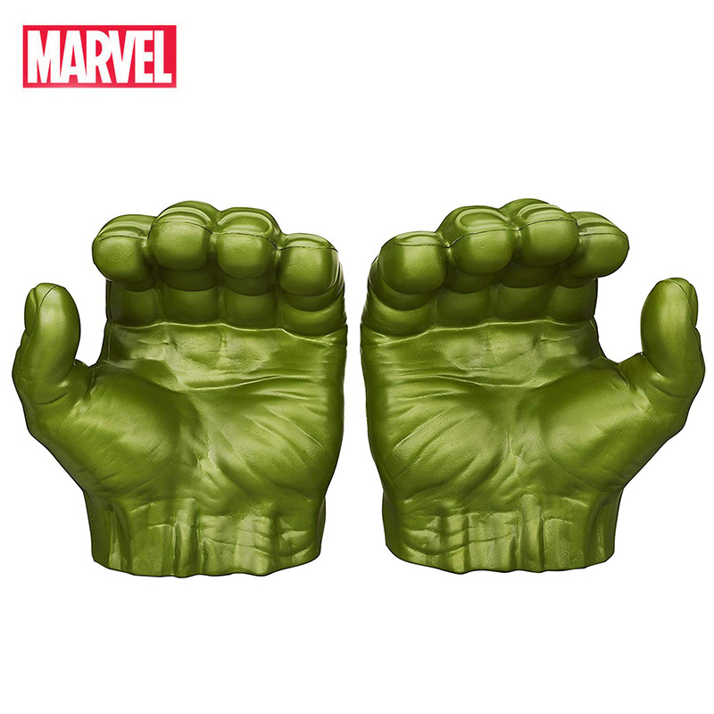 Marvel Avengers Hulk Gloves Disney Figures Toys Hulk Action Figure Cosplay Marvel Legends Gamma Grip Model Toy Gift For Children