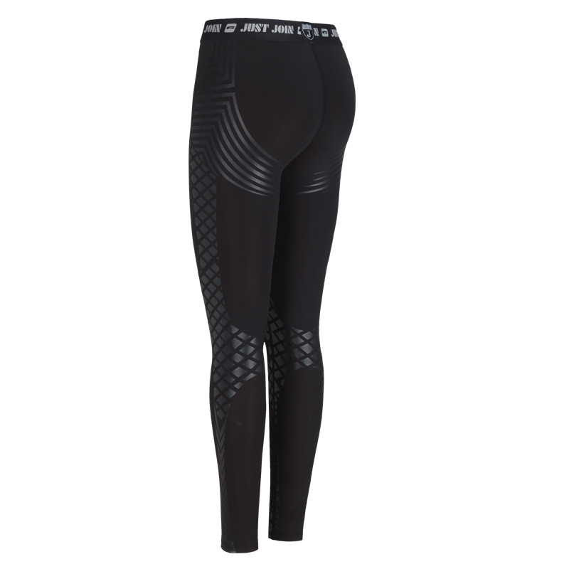 Fitness Leggings Material: Women Compression Tights Running Leggings Nylon Fabric