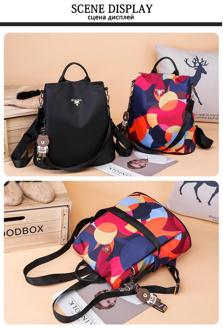 HTB16PfUe3aH3KVjSZFjq6AFWpXau Fashion backpack women shoulder bag large capacity women backpack school bag for teenage girls light ladies travel backpack