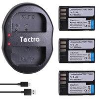 Tectra 2200mAh 3PCS D Li90 D Li90 Digital Camera Battery for PENTAX K 7 K 7D K 5 K 5 II 645D K01 DLi90 Battery+USB Dual Charger
