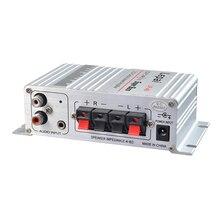 2017 Novo 2.1 Canais Potência De Saída Amplificador HI-FI Super Bass Stereo Amplificador de Áudio Suporte CD MP3 PC
