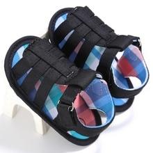 Лето Детская Обувь Подошва Младенческой Мальчики Обувь Новорожденных Мальчиков Обувь Первые Ходоки 0-18 Месяцев
