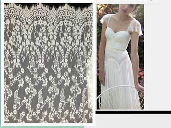 Free shipping!!! high quality new arrival guipure lace fabric /african cord lace fabric for party dress