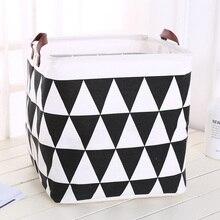 2019 جديد المنظم الإبداعية شعرية صندوق تخزين سلة التخزين للطي القطن الكتان الفن حجم كبير لعبة سلة الغسيل contador