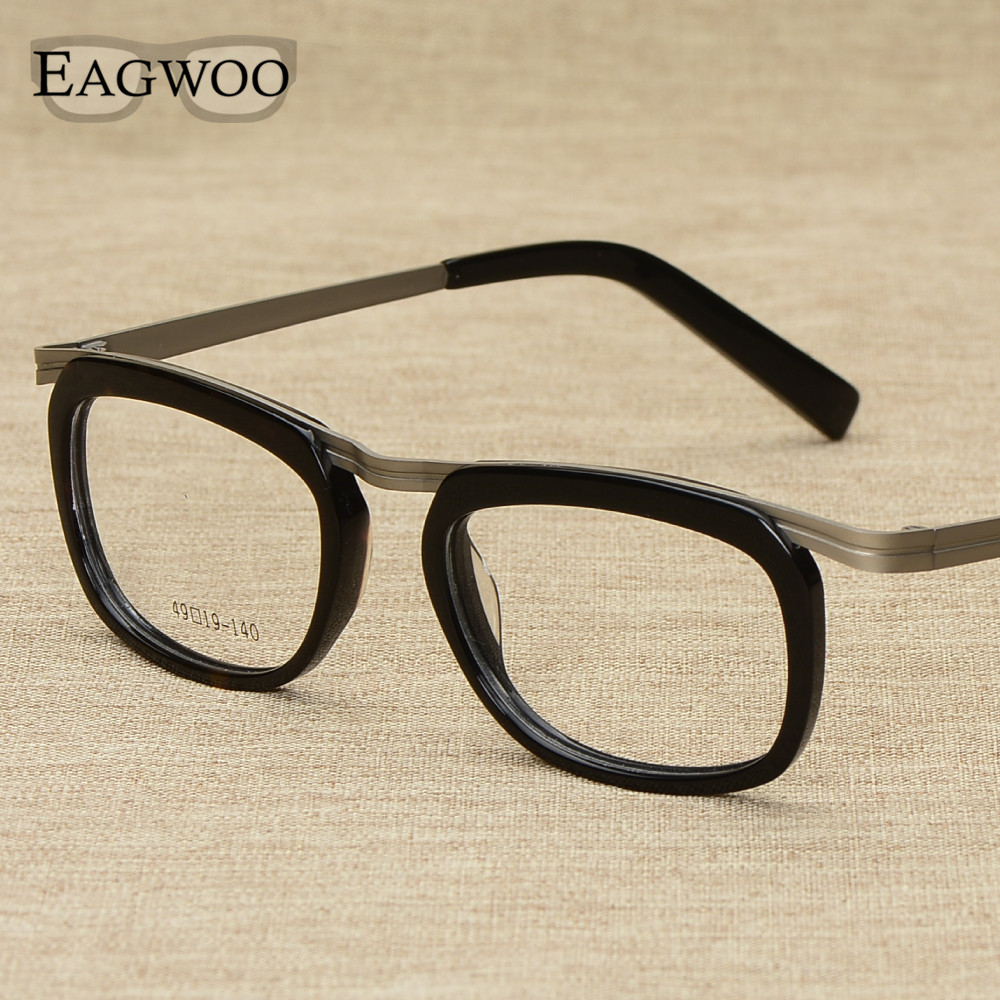 56959f5ccb2 Metal Alloy Full Rim Vintage Nerd Optical Frame Prescription ...