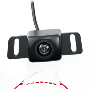 Dynamic trajectory Car Rear View Camera CCD HD night vision for Lifan Solano (620) TOYOTA PRIUS parking waterproof camera