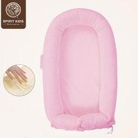 Мягкие новорожденных путешествия кровать Портативный детские кровати матрас детская спальная корзина европейский новорожденных подарки